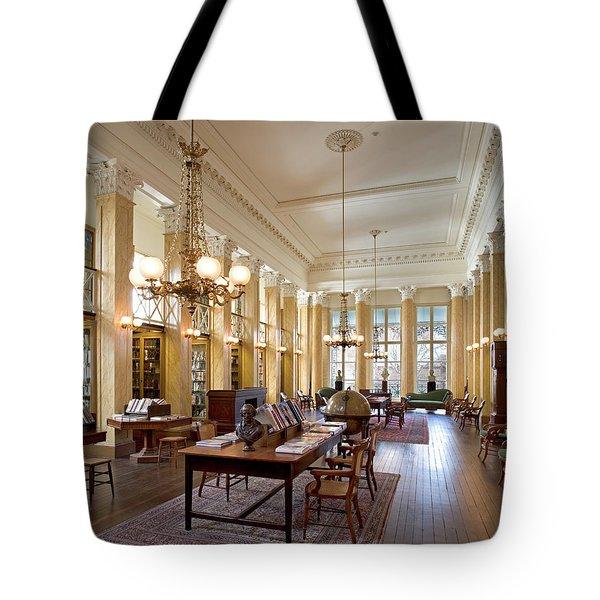 Members' Reading Room Tote Bag
