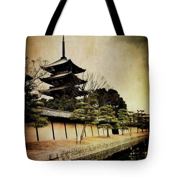 Memories Of Japan 4 Tote Bag