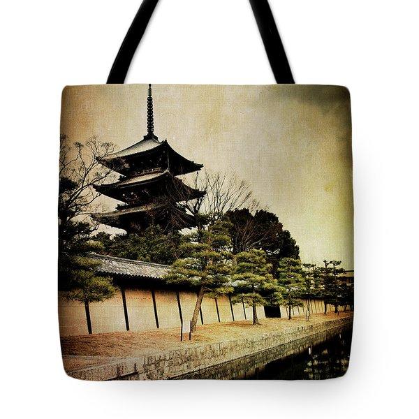 Memories Of Japan 4 Tote Bag
