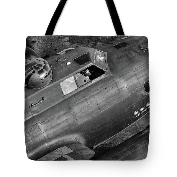 Memphis Belle From On High Tote Bag