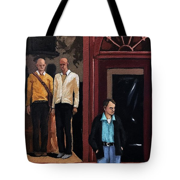 Men's Fashion Oil Painting Tote Bag