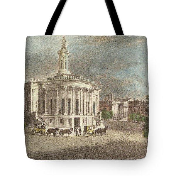 Merchants Exchange, 1838 Tote Bag