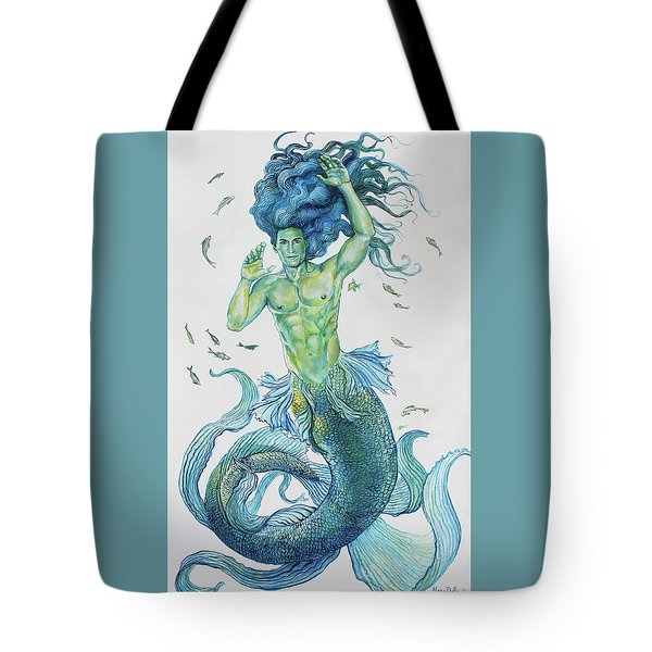 Merman Clyde Tote Bag