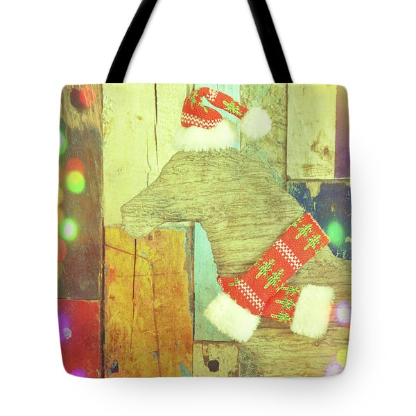 Merry And Brite Tote Bag