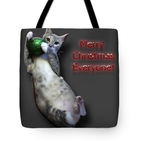 Merry Christmas Everyone Tote Bag