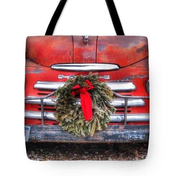 Merry Christmas Texas Tote Bag