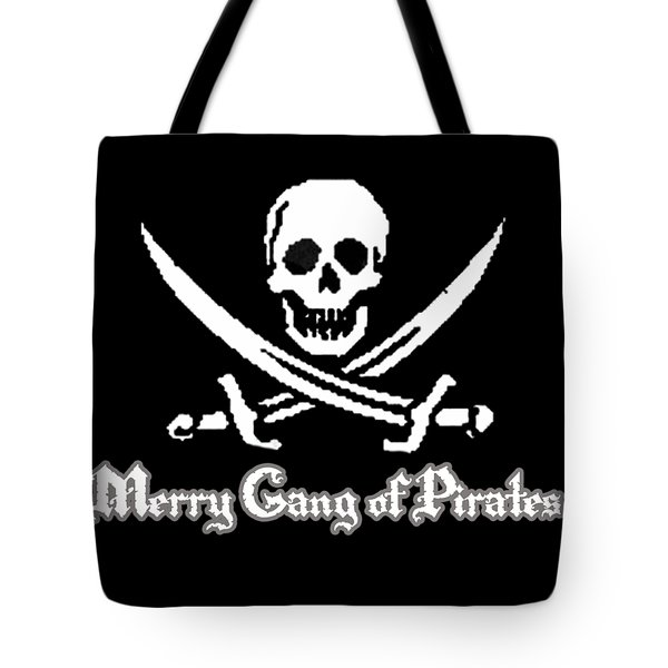 Merry Gang Of Pirates Tote Bag