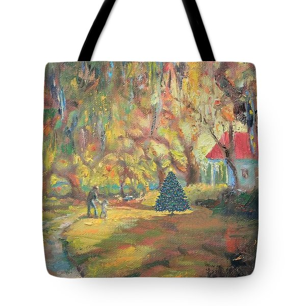 Merry Little Christmas Tote Bag