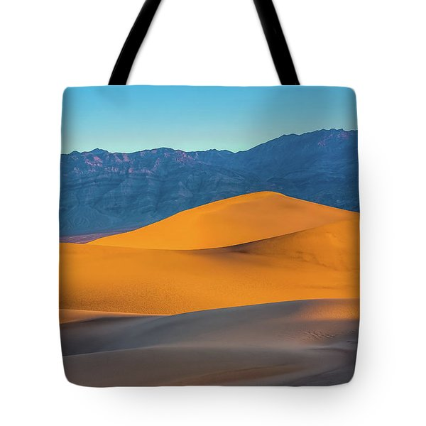 Mesquite Flats Sunsrise Tote Bag