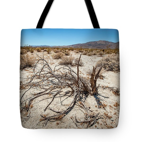 Mesquite In The Desert Sun Tote Bag