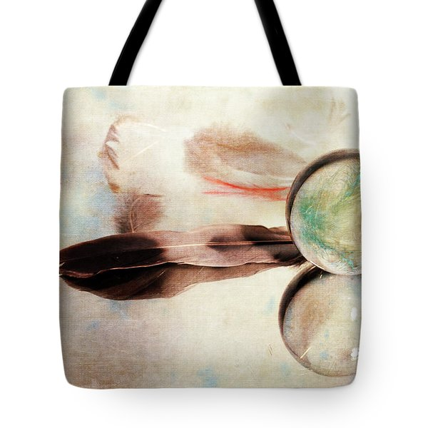 Tote Bag featuring the photograph Messages From Above by Randi Grace Nilsberg