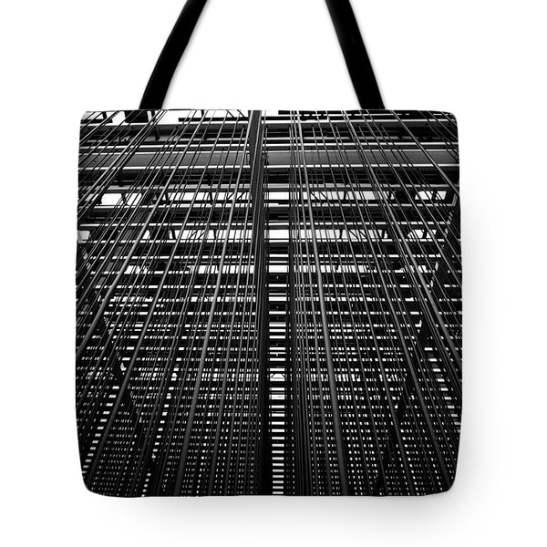 Metal Lines Tote Bag