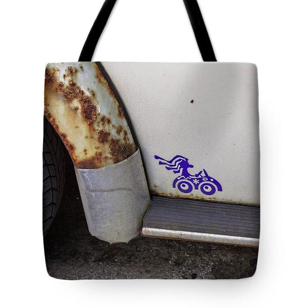 Metal Moth Tote Bag