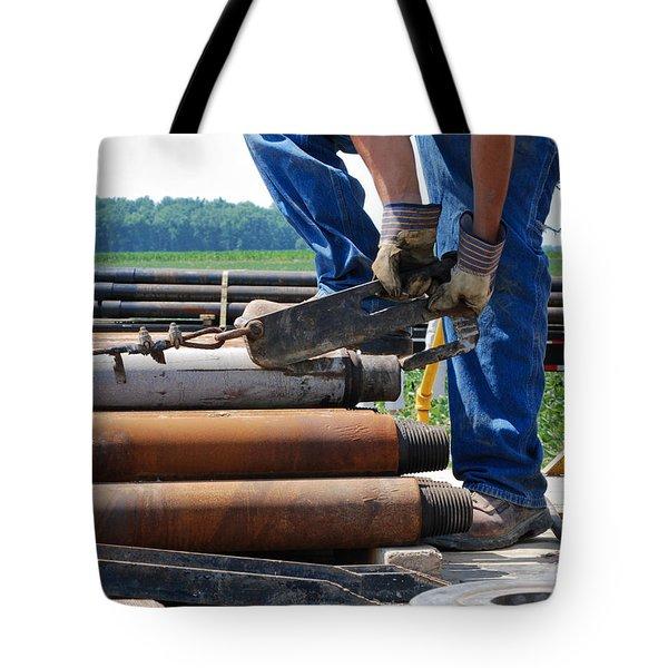 Metal On Metal Tote Bag