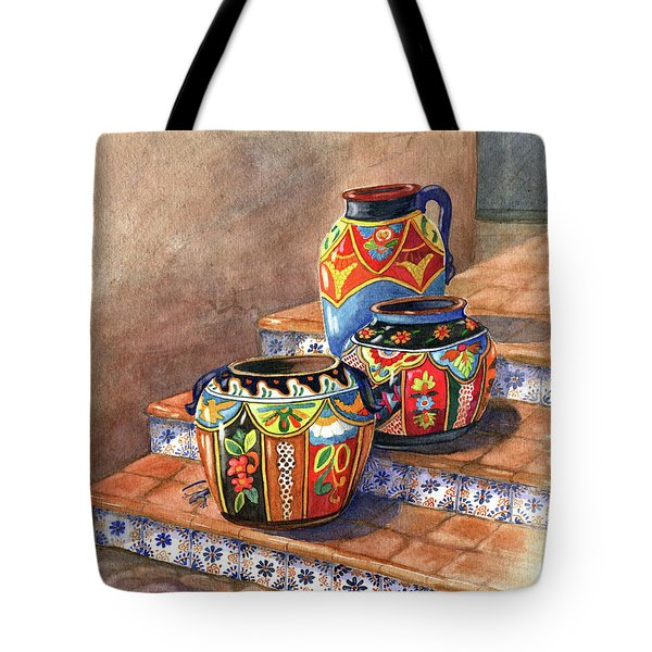 Mexican Pottery Still Life Tote Bag