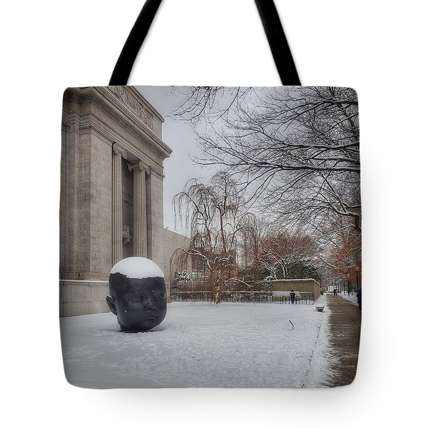Mfa Boston Winter Landscape Tote Bag