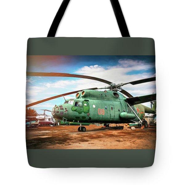 Mi-6 Helicopter Riga Latvia  Tote Bag