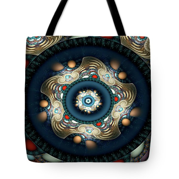 Tote Bag featuring the digital art Micah by Missy Gainer