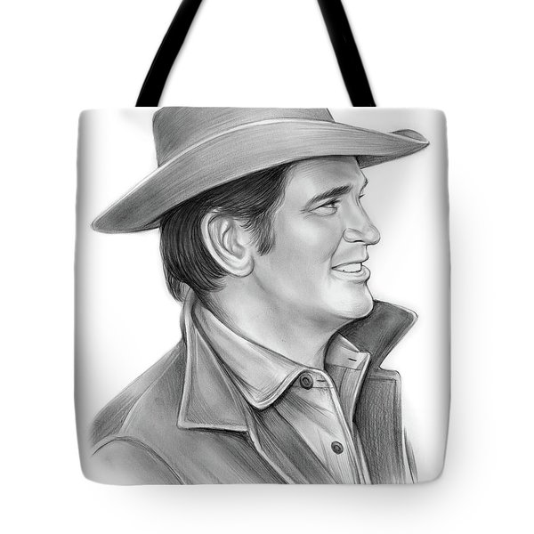 Michael Landon Tote Bag
