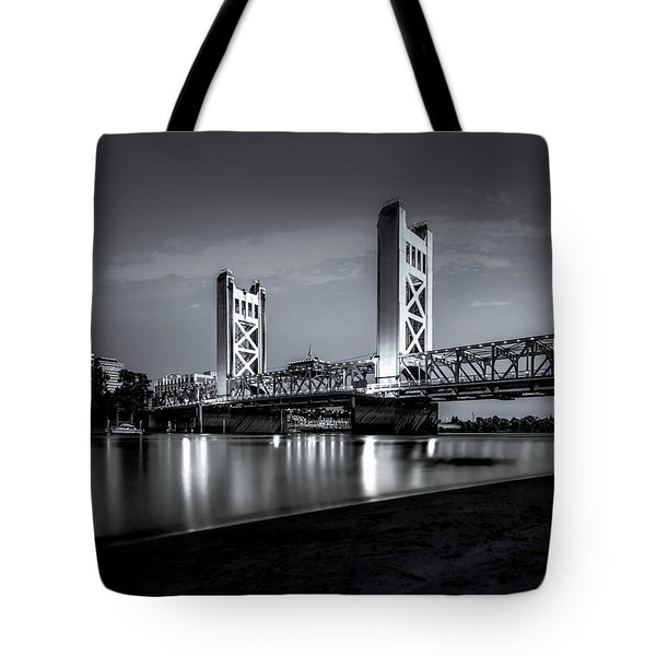 Tote Bag featuring the photograph Midnight Hour- by JD Mims