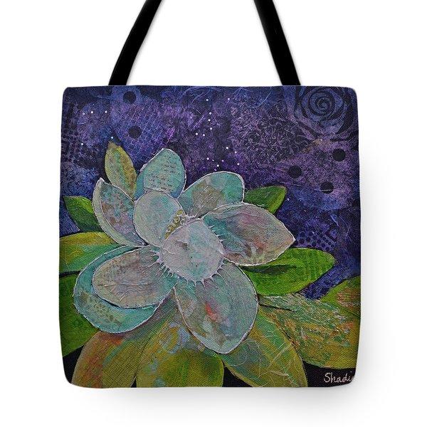 Midnight Magnolia I Tote Bag