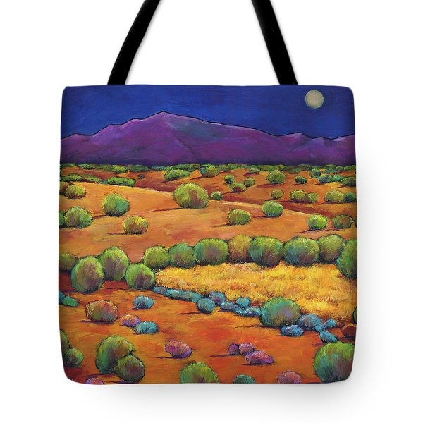 Midnight Sagebrush Tote Bag