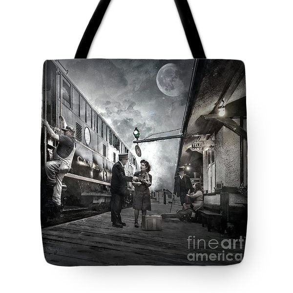 Midnite Run Tote Bag
