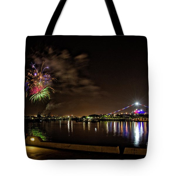 Midway Fireworks  Tote Bag