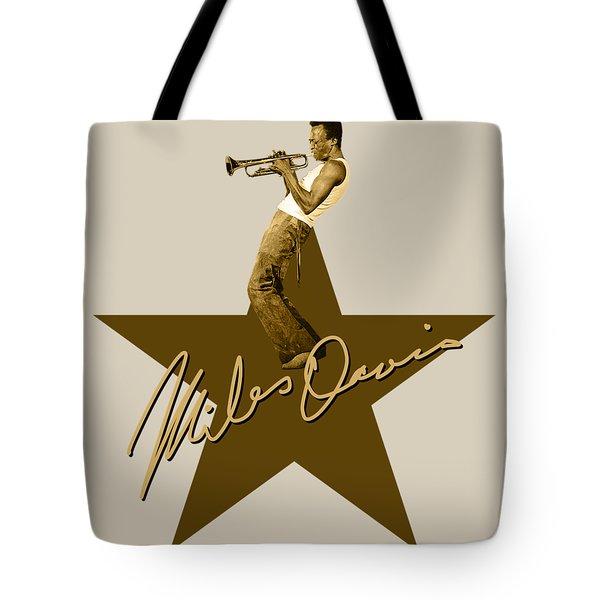 Miles Davis - Signature Tote Bag