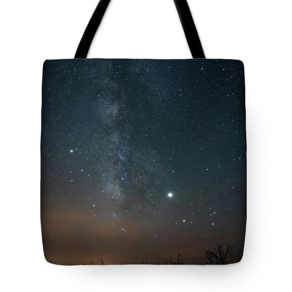 Milky Mesa Tote Bag
