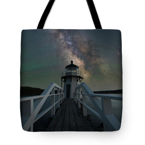 Milky Way Over Doubling Point Tote Bag