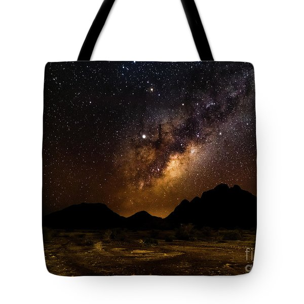 Milkyway Over Spitzkoppe 2, Namibia Tote Bag