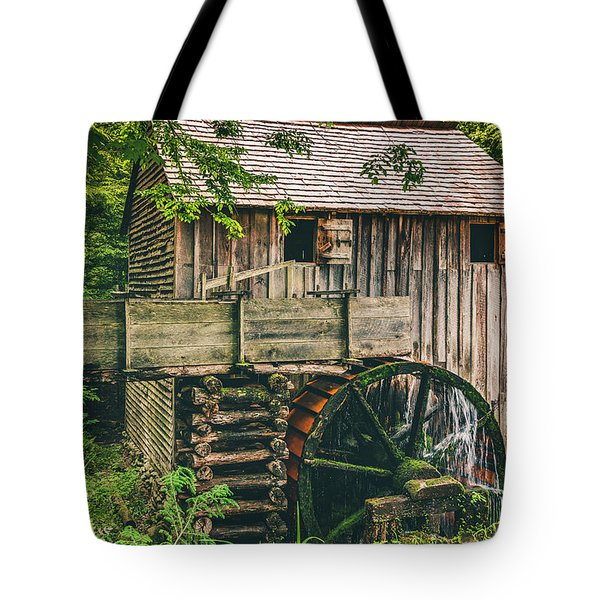 Mill At Cades Cove Tote Bag