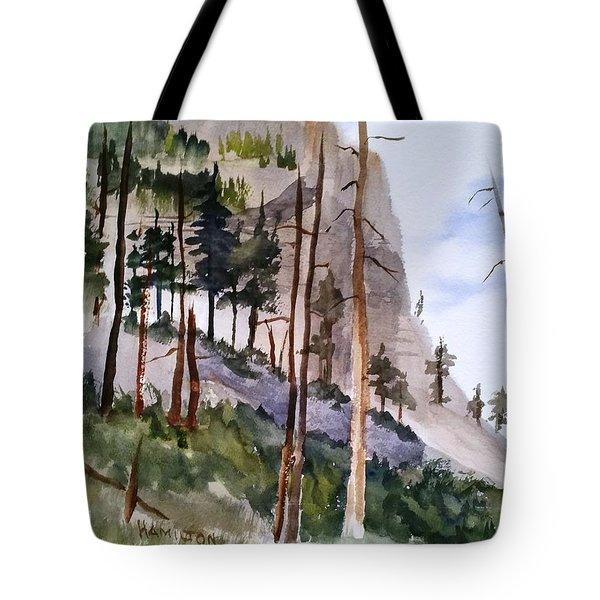 Mill Creek Canyon Tote Bag