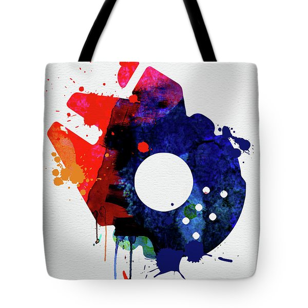 Millennium Falcon Watercolor Cartoon Tote Bag