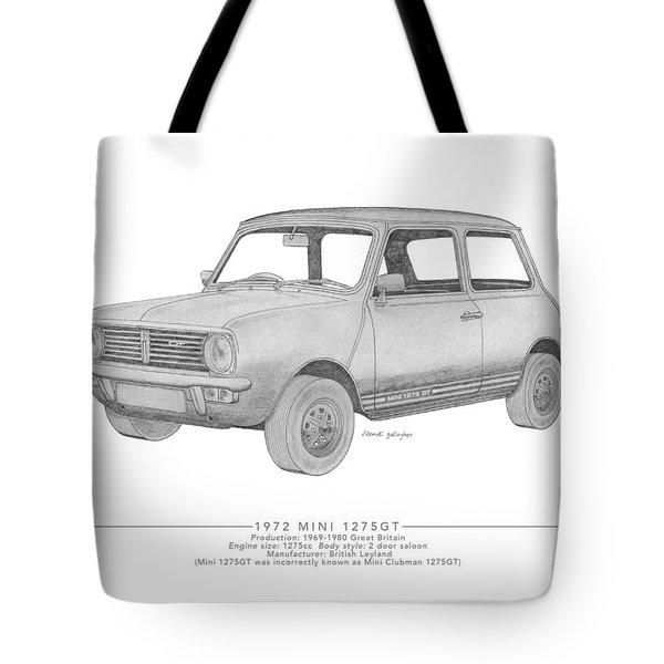 Mini 1275gt Saloon Tote Bag