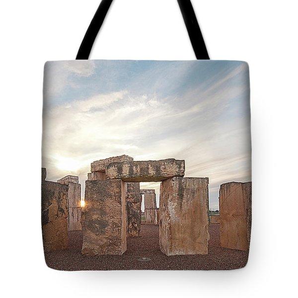 Mini Stonehenge Tote Bag