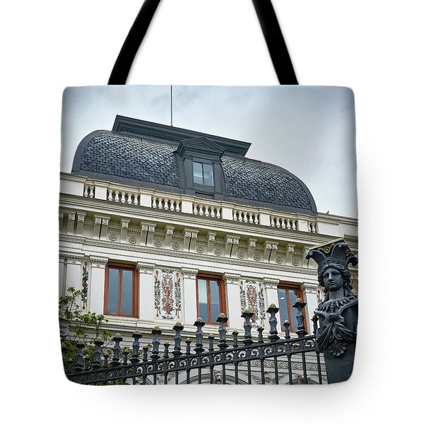 Ministry Of Agriculture Building Of Madrid Tote Bag