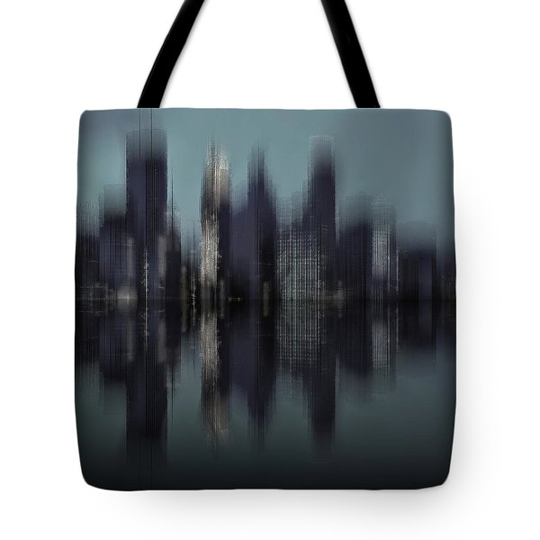Tote Bag featuring the digital art Minneapolis 1 by David Manlove