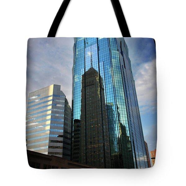 Minneapolis Skyline Photography Foshay Tower Tote Bag