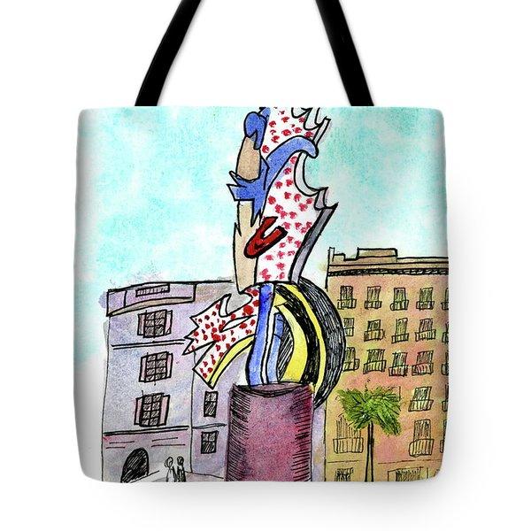 Roy Lichtenstein's El Cap Tote Bag