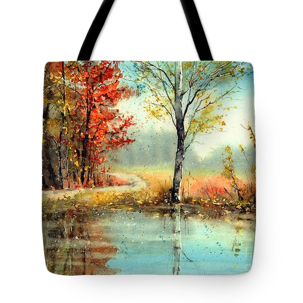 Mirror In The Lake Tote Bag