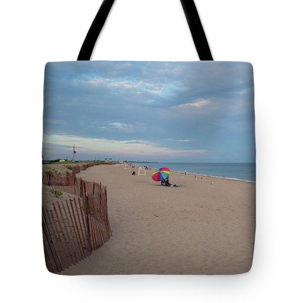 Misquamicut Shoreline Tote Bag