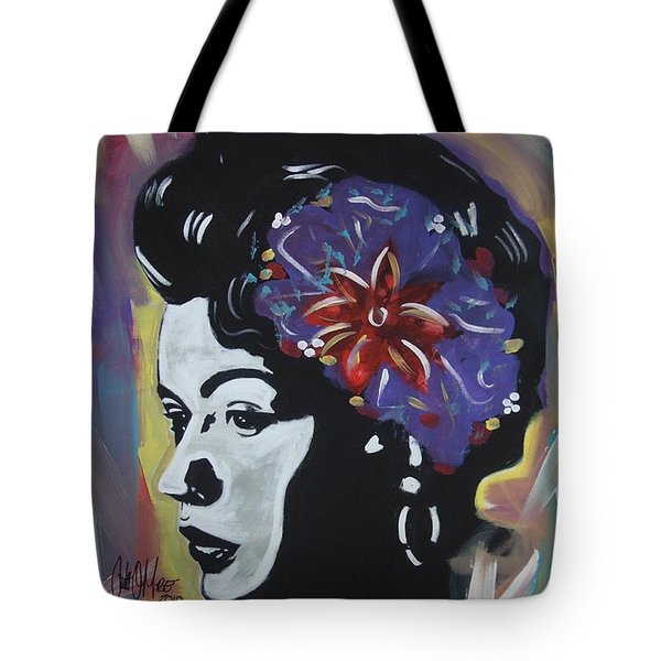 Miss Holiday Tote Bag