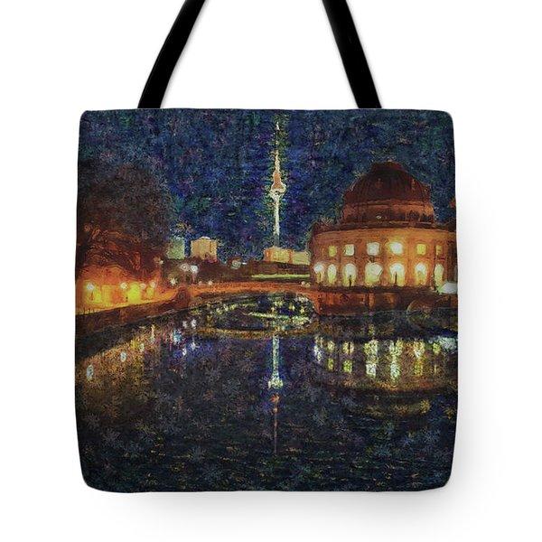 Mist Of Impressionism. Berlin. Tote Bag