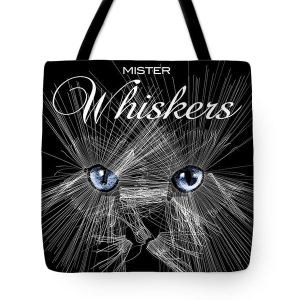 Mister Whiskers Tote Bag