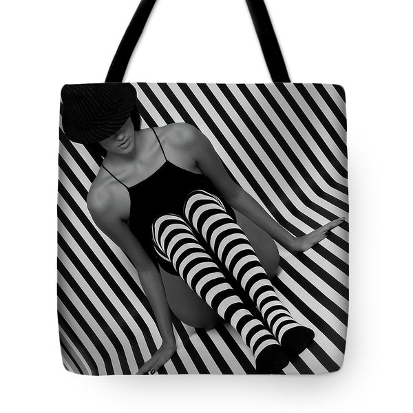 Tote Bag featuring the photograph Model 1 by Francisco Gomez