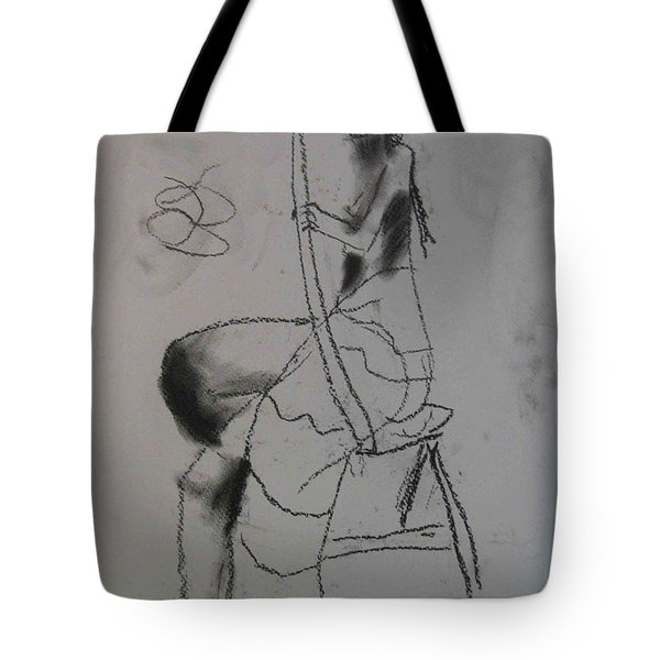 model named Chieh two Tote Bag