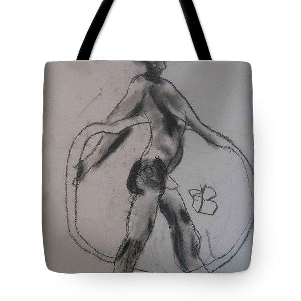 model named Guy Tote Bag