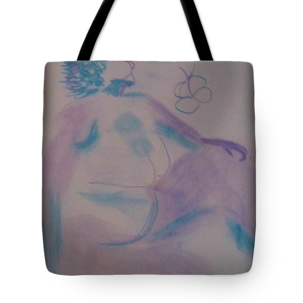 model named Helene Tote Bag